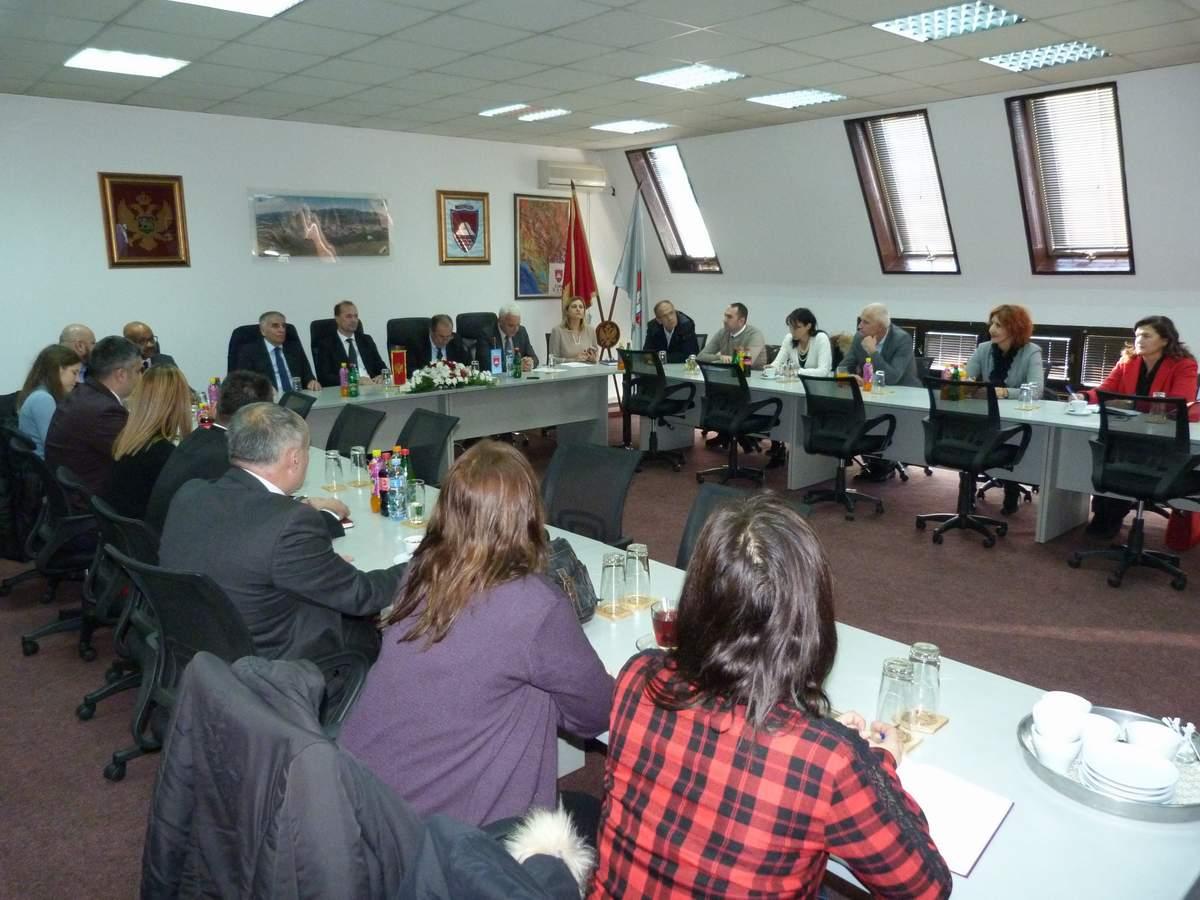 Članovi Odbora za ljudska prava i slobode Skupštine Crne Gore boravili u Bijelom Polju