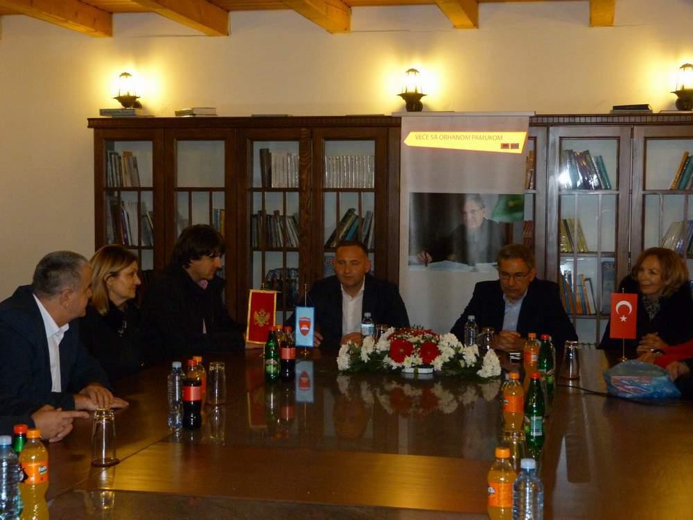 Nobelovac Orhan Pamuk  boravio u Bijelom Polju