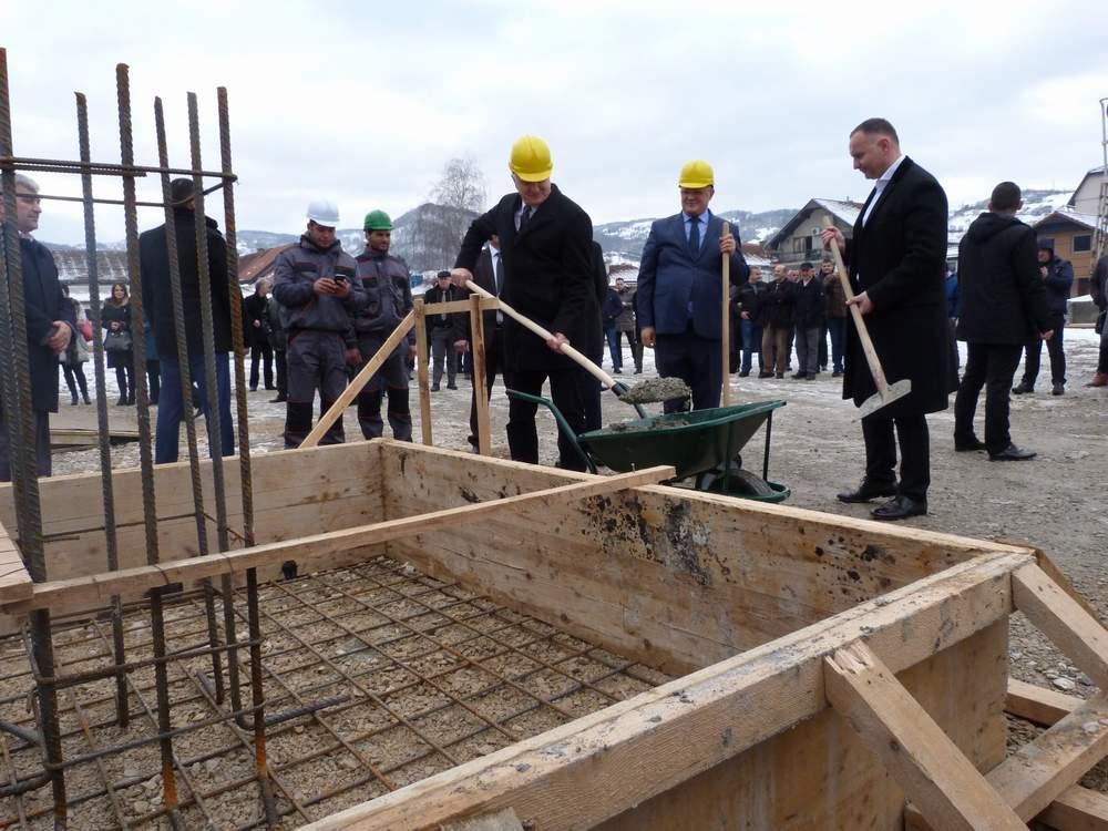 Ozvaničen početak radova na izgradnji ETC trgovinskog centra