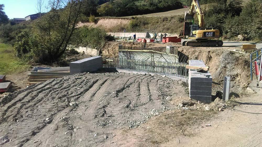 U toku radovi na izgradnji mosta na Ljuboviđi u mjestu Mahala