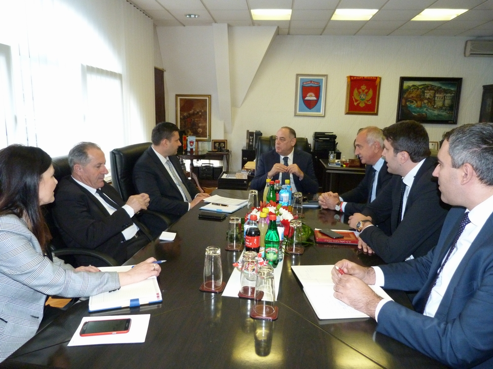Potpredsjednik Vlade Simović boravio u radnoj posjeti Bijelom Polju