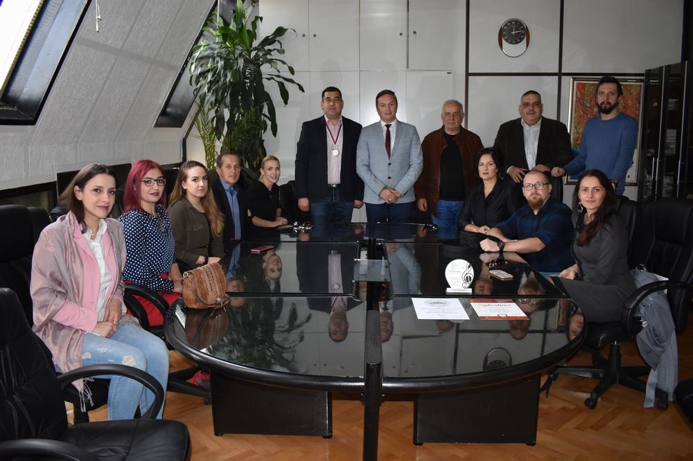 Predsjednik Skupštine Dizdarević primio članove Gradskog hora