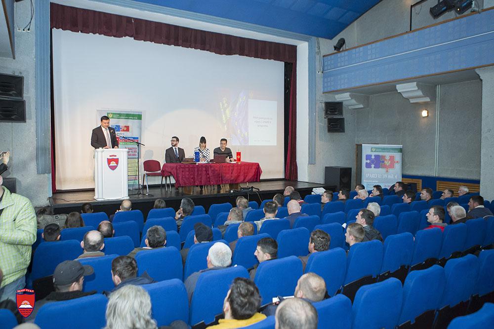 Održana prezentacija PRVOG IPARD javnog poziva u Bijelom Polju