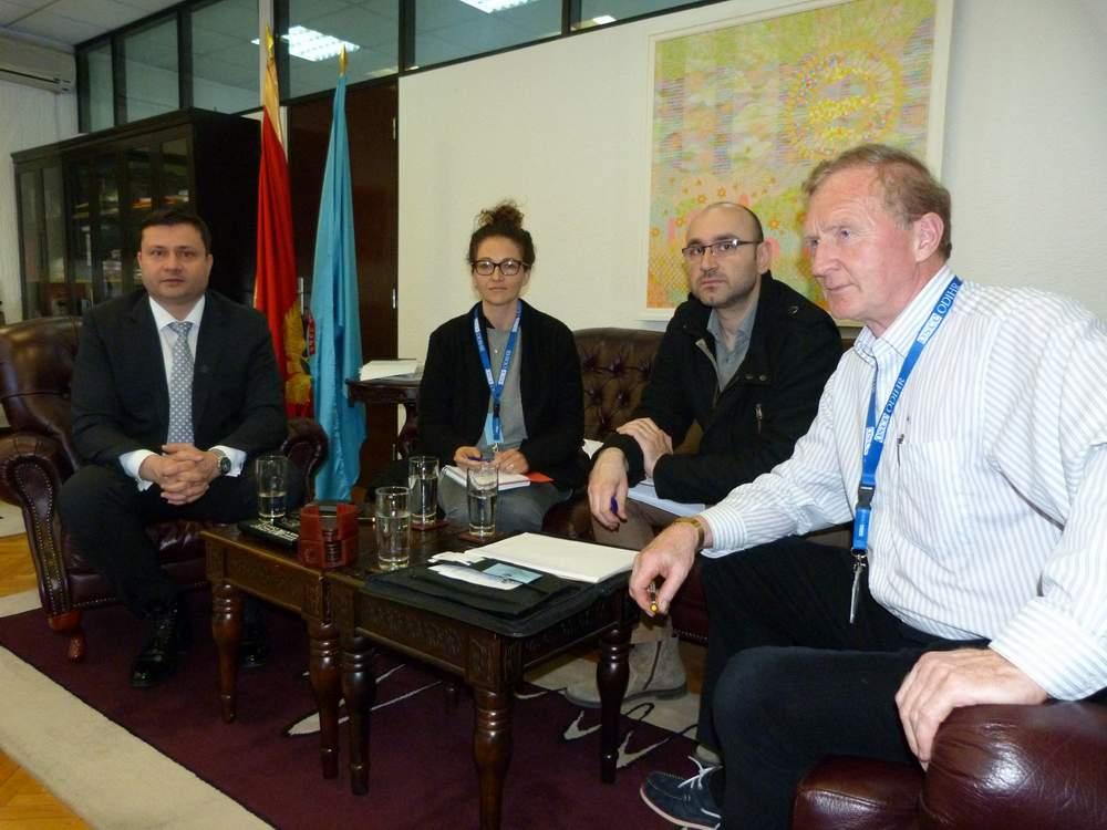 Predsjednik Smolović razgovarao sa predstavnicima Kancelarije OEBS-a za demokratske institucije i ljudska prava ODIHR