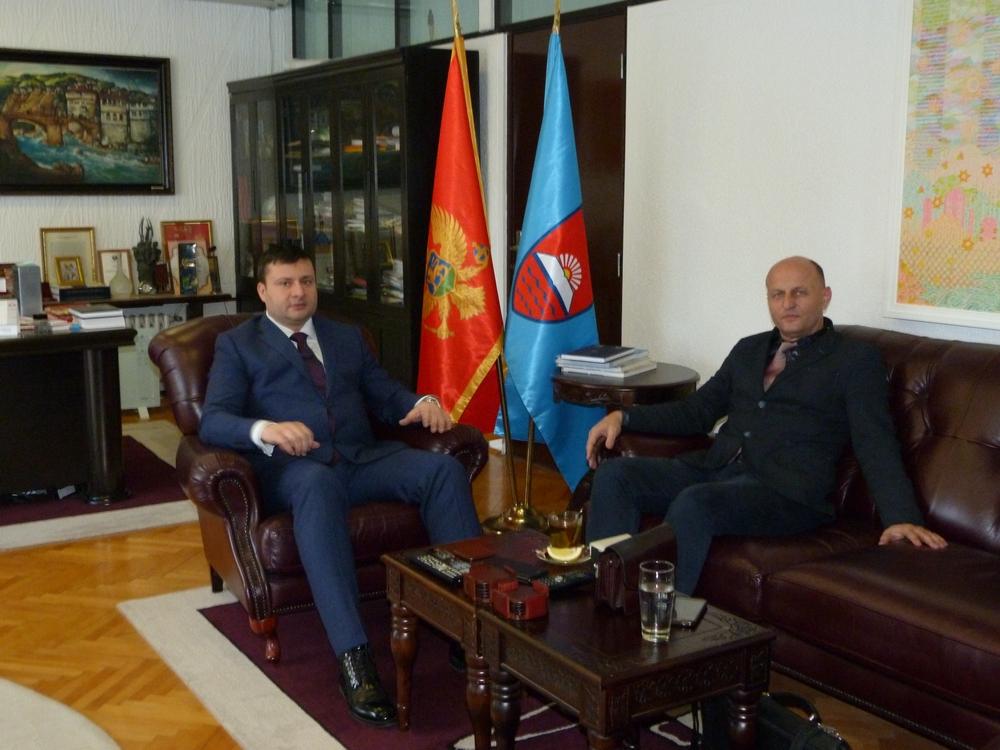 Predsjednik Smolović sa dekanom Rakočevićem o nastavku rada Pravnog fakulteta u Bijelom Polju
