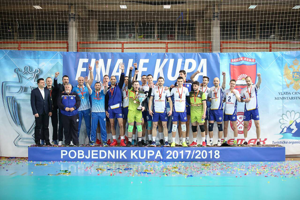 Jedinstvo Bemax poklonilo trofej Kupa Crne Gore svom gradu!