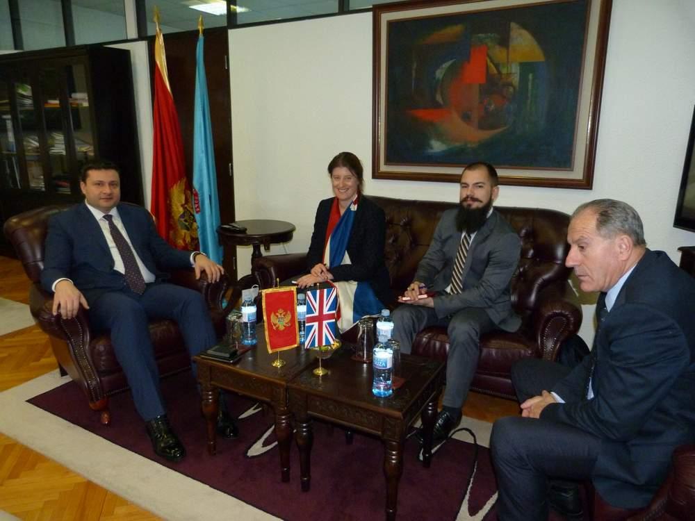 Predsjednik Smolović razgovarao sa ambasadorkom Velike Britanije