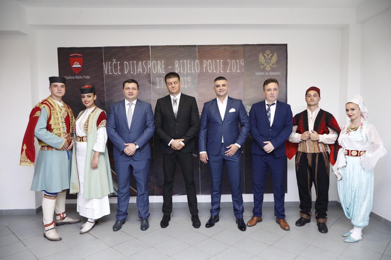 Održano prvo Veče dijaspore Bijelog Polja
