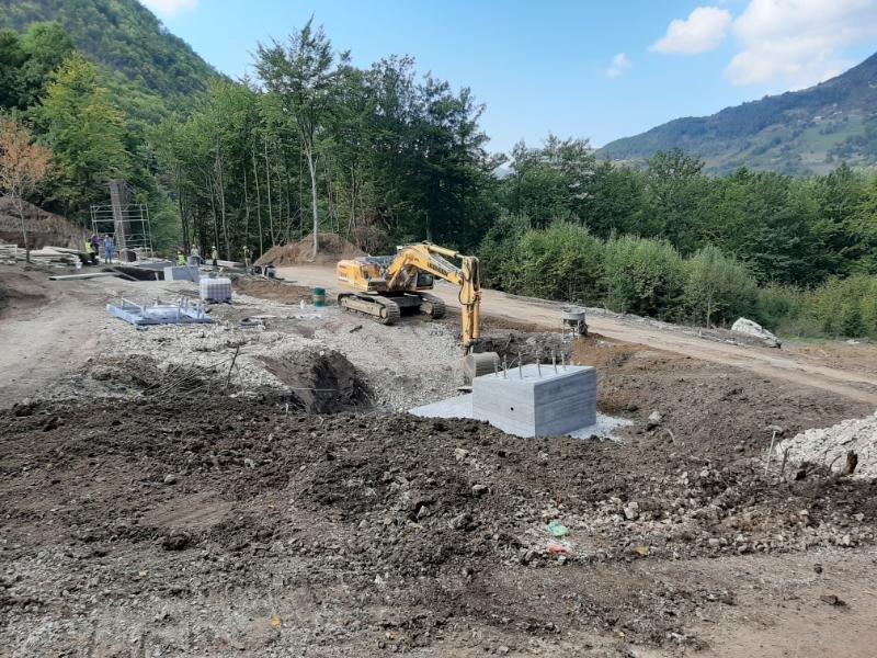 Bijelo Polje veliko gradilište:Počela gradnja žičare u Đalovića klisuri