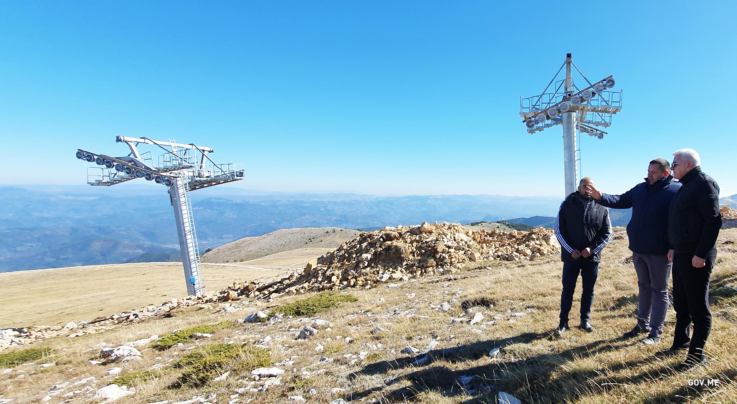 Premijer Marković na Cmiljači: Ski centar koji ovdje gradimo, i turistički kompleks na Bjelasici biće novi zamajac ekonomiji i donijeće nova radna mjesta i prilike za mlade