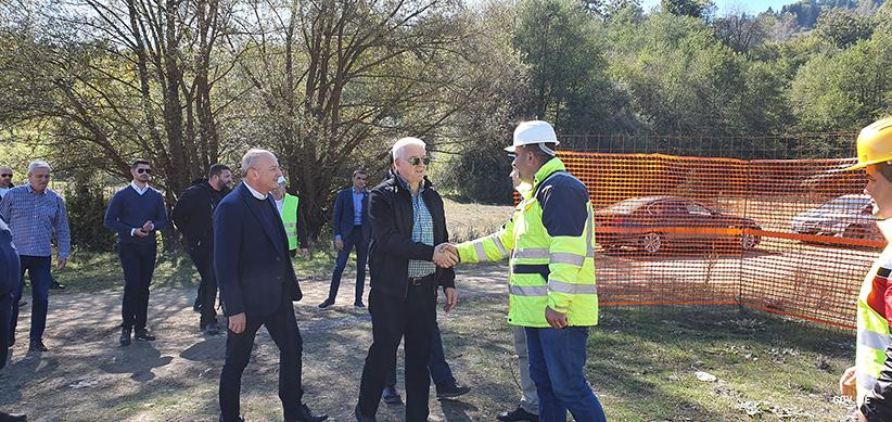Premijer Marković na gradilištu turističkog kompleksa Đalovića pećine: Ovo je jedan od najvrednijih Vladinih projekata koji će podstaći druge sektore bijelopoljskog kraja