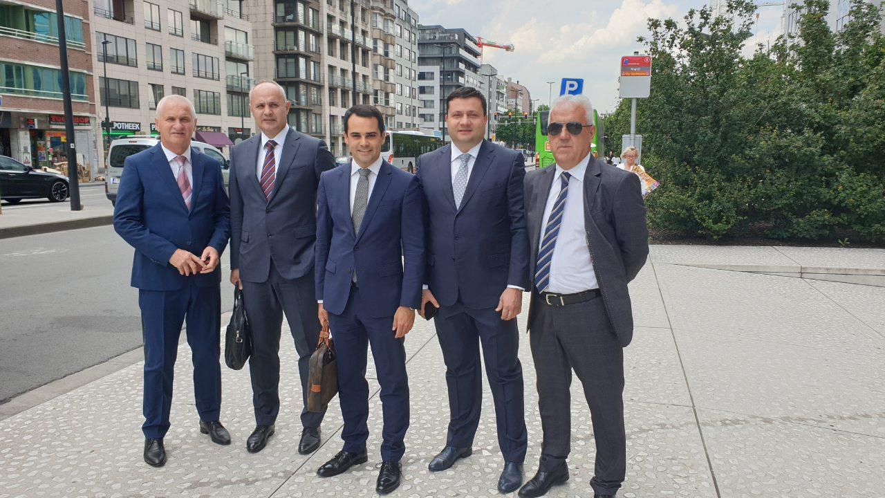 Predsjednici opština na sastanku Komiteta  regiona u Briselu