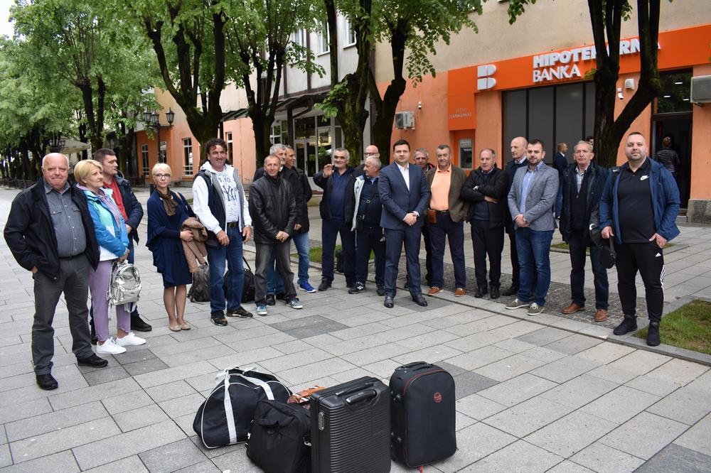 Delegacija Bijelog Polja otputovala za Novi Sad na sajam poljoprivrede