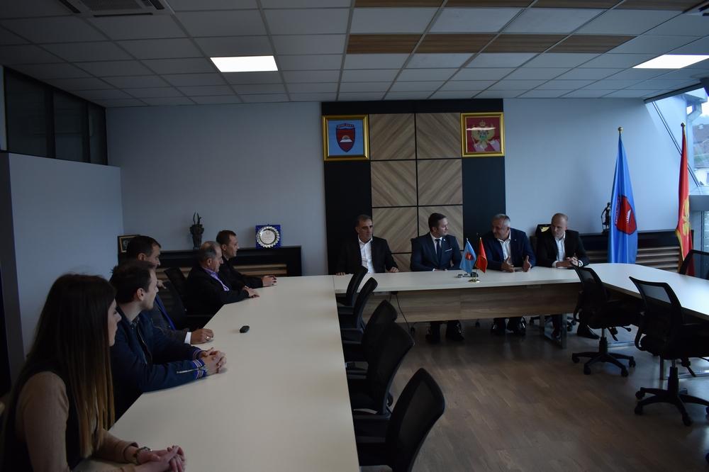 Predsjednik Skupštine  Dizdarević upriličio prijem za predstavnike Crnogorskog olimpijskog komiteta