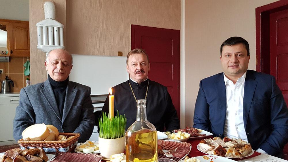 Povodom Božića predsjednik sa saradnicima posjetio porodični dom prote i starješine Crkve Sv. Petra