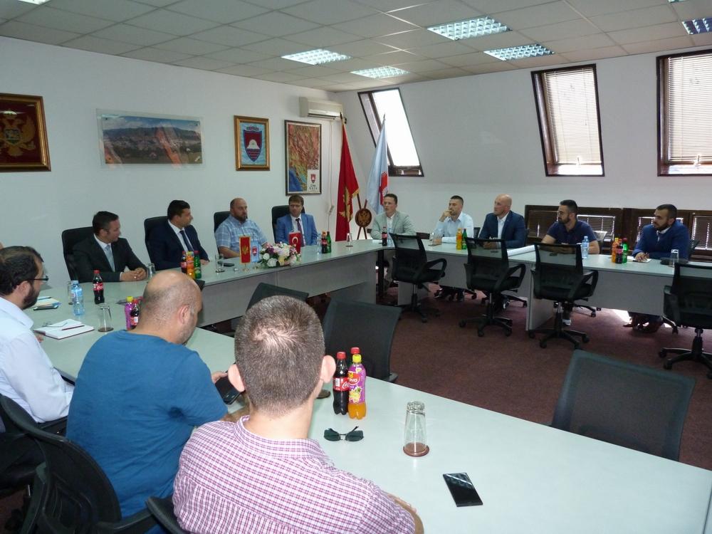 Održan sastanak na temu izgradnje Centralne gradske džamije u Bijelom Polju