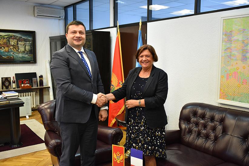 Ambasadorka Francuske u posjeti Bijelom Polju