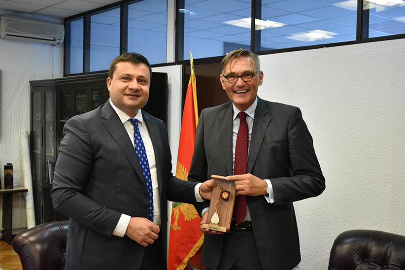 Ambasador Njemačke dr Robert Veber u posjeti Bijelom Polju