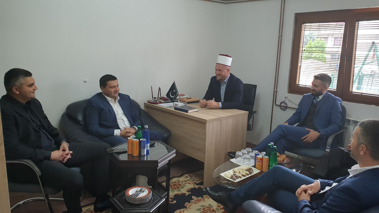 Predsjednik Smolović posjetio Islamsku zajednicu u Bijelom Polju