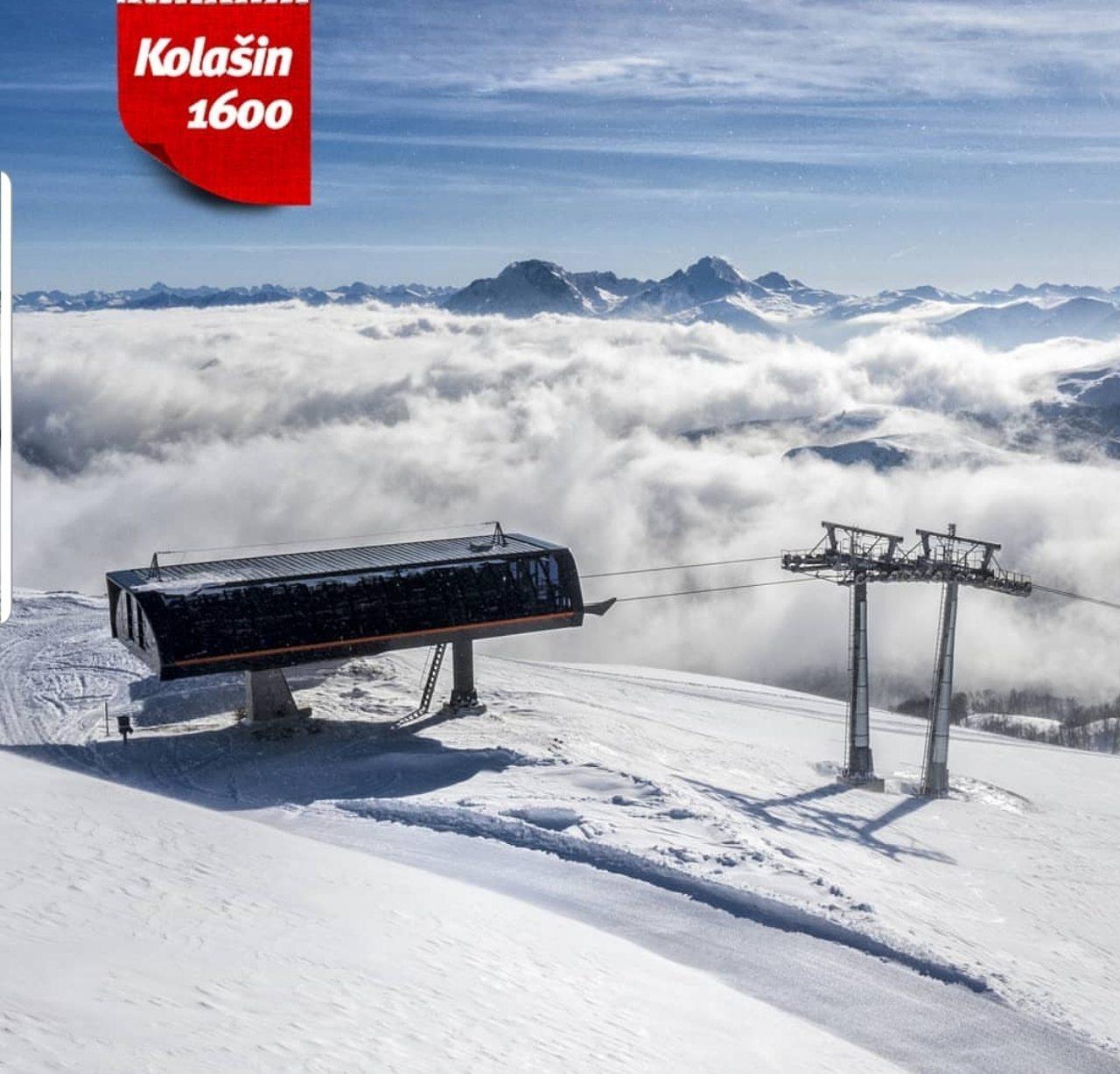 Predsjednik Smolović na poziv Predsjednika Vlade prisustvovao otvaranju Ski centra 1600 u Kolašinu