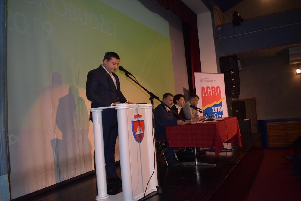 U Bijelom Polju prezentiran državni Agrobudžet vrijedan 52,4 miliona eura